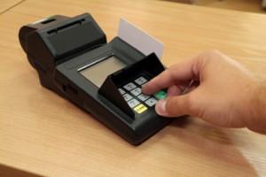 Rented Credit Card Machine